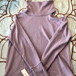 Calvin Klein Performance Mock Neck Top